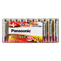 パナソニック アルカリ乾電池単4 LR03XJ/20SW 1パック(20本入)