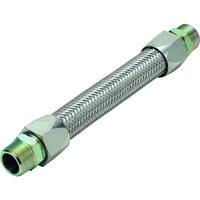 南国フレキ工業 NFK メタルタッチ無溶接式フレキ ニップル鉄10A×300L NK34010300 1本 218ー4389 (直送品)
