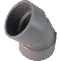 積水化学工業 エスロン DV継手45°エルボ 30 D4L30 1個 254ー4270 (直送品)
