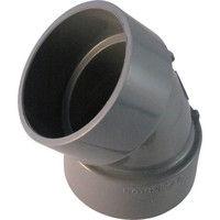 積水化学工業 エスロン DV継手45°エルボ 50 D4L50 1個 254ー4296 (直送品)