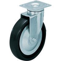 スガツネ工業 LAMP 重量用キャスター径203自在D(200ー038ー297) 31408PD 1個 305ー3636 (直送品)