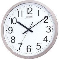 リズム時計 CITIZEN(シチズン) パルウェーブM603B プラスチック枠 [電波 掛け 時計] 281ー5320 4MY603B19 1個 (直送品)