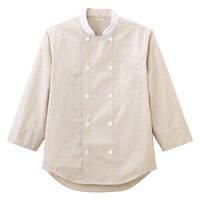 ボンマックス コックシャツ(ユニセックス) FB4514U ベージュ L (直送品)