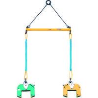 スーパーツール 木質梁専用吊クランプ天秤セット BLC200S 1セット 104ー1142 (直送品)