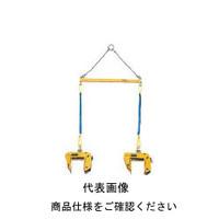 スーパーツール 型枠・パネル吊 天秤セット PTC100S 1セット 104ー1100 (直送品)