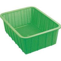 積水テクノ成型 積水 角かご深型 大 緑 K5442G 1個 319ー6941 (直送品)