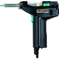 石崎電機製作所 SURE ハンダ吸取器 電動タイプ DS520 1セット 127ー7502 (直送品)