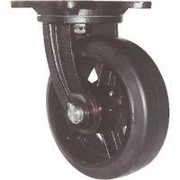 ヨドノ 鋳物重量用キャスター 許容荷重671.3 取付穴径15mm MHA-MG300X75 1個 305-3130 (直送品)
