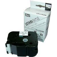 マックス(MAX) ラベルプリンタ ビーポップミニ 36mm幅テープ 白地黒字 LM-L536BW 1個 006-6311 (直送品)
