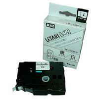 マックス MAX ラベルプリンタ ビーポップミニ 9mm幅テープ 白地黒字 LML509BW 1個 006ー6249 (直送品)