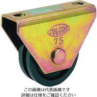 丸喜金属本社 マルコン枠付重量車 90mm コ型 C-2350-90 1個 119-8912 (直送品)
