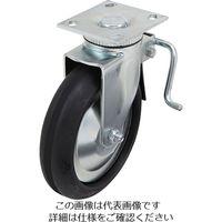 スガツネ工業 LAMP 重量用キャスター径203自在ブレーキ付D(200ー133ー472) 31408BPD 1個 305ー3610 (直送品)