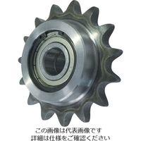 片山チエン カタヤマ ダブルアイドラースプロケット50 WID50C17D20 1個 333ー7871 (直送品)