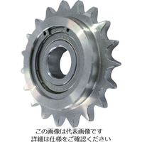 片山チエン カタヤマ ステンレスアイドラースプロケット50 SUSID50C13D15 1個 333ー6972 (直送品)