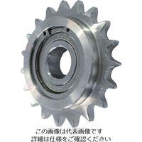 片山チエン カタヤマ ステンレスアイドラースプロケット50 SUSID50C15D17 1個 333ー6981 (直送品)