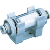 日本ピスコ ピスコ 真空用フィルター 小型ユニオン樹脂タイプ VFU266P 1個 337ー7971 (直送品)