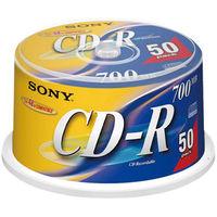ソニー CD-R700MB ノンプリンタブル 1パック(50枚入)