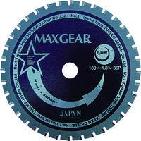 チップソージャパン チップソージャパン マックスギア鉄鋼用180 MG180 1枚 337ー0691 (直送品)