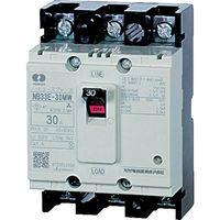 河村電器 分電盤用ノーヒューズブレーカ 定格3A 幅68mm NB 33E-3MW 1台 334-9993 (直送品)