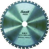 チップソージャパン チップソージャパン 鉄鋼用ダンク(180mm) TD180 1枚 337ー1387 (直送品)