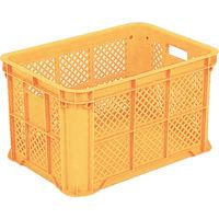 三甲(サンコウ/SANKO) サンコー サンテナーB#50ミミナシ オレンジ SK-B50-OR 1個 342-4740 (直送品)