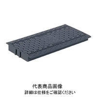 三甲 サンコー プラスチックグレーチングU#300グレー SKGLU300GL 1枚 342ー4952 (直送品)
