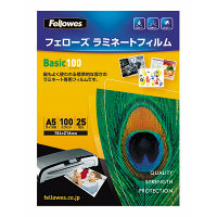 フェローズ パウチフィルム 100ミクロン ベーシック A5サイズ用 154×216mm 5400601 1箱(250枚入)
