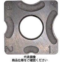 富士元工業 R面取り用チップ 超硬M種 3R 超硬 N43GXR3R NK2020 1セット(12個) 111-3658 (直送品)