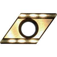 富士元工業 60°モミメン専用チップ 超硬K種 TiNコーティング COAT D43GUX NK5050 1セット(12個) 208-7961 (直送品)