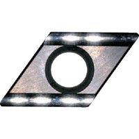 富士元工業 60°モミメン専用チップ 超硬K種 超硬 D43GUX NK1010 1セット(12個) 208-7952 (直送品)