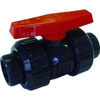 積水化学工業(セキスイ化学) ボールバルブ ねじ式 本体PVC OリングEPDM 20 BV20NX 1個 351-4927 (直送品)