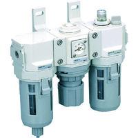 CKD(シーケーディー) FRLコンビネーション C4000-10-W 1セット 344-4392 (直送品)
