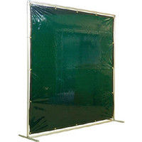 吉野 吉野 遮光フェンスアルミパイプ 2×2 単体固定 グリーン YS22SFG 1台 352ー8936 (直送品)
