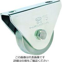 丸喜金属本社 オールステンレス枠付重量車 75mm 平型 S-3750-75 1個 356-1453 (直送品)