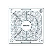 山洋電気 SanACE 樹脂フィルターキット (80用) 1091002F20 1枚 353ー2127 (直送品)