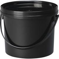 DICプラスチック DSPシリーズFタイプ 2F蓋付 黒 DSP-2F BK 1個 354-4702 (直送品)