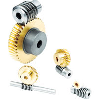 協育歯車工業 KG ウォーム W80SR1PB 1個 355ー4449 (直送品)