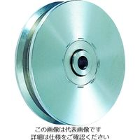丸喜金属本社 MK オールステンレス枠無重量車 75mm V型 S310075 1個 355ー0800 (直送品)