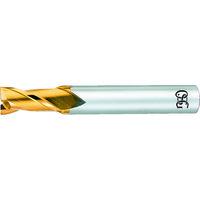 オーエスジー OSG ハイスエンドミル TIN 2刃ショート 1 EXTINEDS1 1本 631ー4007 (直送品)
