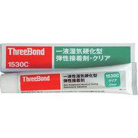 スリーボンド(ThreeBond) 万能型接着剤 一液無溶剤 TB1530C 150g 透明色 TB1530C-150 1本 355-2896 (直送品)
