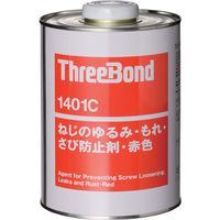 スリーボンド スリーボンド ネジロック TB1401C 1kg 赤色 TB1401C1 1缶 126ー3889 (直送品)