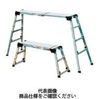 NAKAO(ナカオ) アルミ 作業足場台 ヒテンマ 3段 117cm CEE251512 1台 509-4275 (直送品)