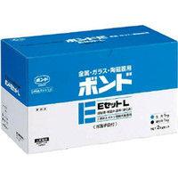 コニシ コニシ ボンドEセットL 2kgセット(箱)低粘度 L #45027 L BE2 1セット 112ー6351 (直送品)