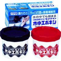 セメダイン 水中エポキシ 1kgセット AP-001 1セット 330-9606 (直送品)