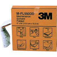 スリーエムヘルスケア 3M メンテナンスソーベント(フォールデッドタイプ) 127mmX15.2m MFL550DD 125ー6432 (直送品)