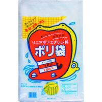 積水フィルム(SEKISUI) 70型ポリ袋 透明 #6 N-9750 1袋(10枚) 303-5981 (直送品)