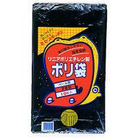 積水フィルム(SEKISUI) 70型ポリ袋 黒 #6-2 N-9752 1袋(10枚) 001-9631 (直送品)