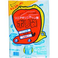 積水フィルム(SEKISUI) 45型ポリ袋 透明 #1 N-9609 1袋(10枚) 303-5972 (直送品)