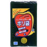 積水フィルム 積水 90型ポリ袋 黒 #7ー2 N9708 1セット(10枚:10枚入×1袋) 001ー9666 (直送品)