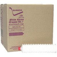 住鉱潤滑剤 グリース(食品機械用) ホワイトアルコムグリースNo.1 400g WAG-04-1 1本 121-8794 (直送品)